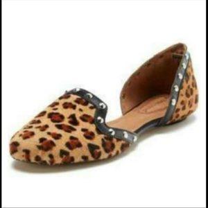 CORSO COMO Studded D'orsay Leopard flats 6
